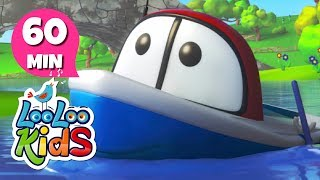 Row, Row, Row Your Boat - Peaceful Lullabies for Children | LooLoo Kids