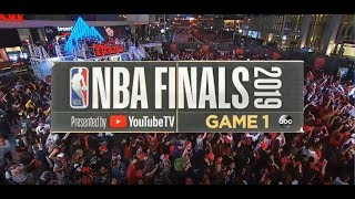 2019 NBA Finals | Toronto Raptors vs Golden State Warriors Game 1 ESPN on ABC Intro