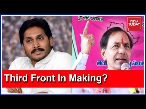 Xxx Mp4 KCR Jagan Mohan Reddy Owaisi To Form A Third Front VoteOn2019 3gp Sex
