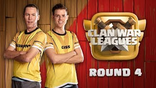 Clan War Leagues - 3 Star Attacks - Clash of Clans - Round 4