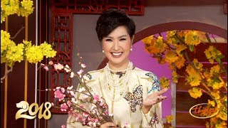 Nguyễn Hồng Nhung Chúc Tết Xuân Mậu Tuất 2018