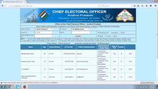 Voter Id Card Download AP
