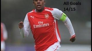 Alex Iwobi   All Goals 14/15