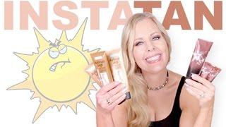 Fake A Tan Body With Makeup | Sally Hansen Airbrush Legs & Melanie Mills Hollywood Gleam