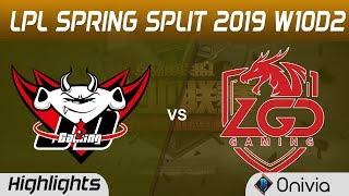 JDG vs LGD Highlights Game 2 LPL Spring 2019 W10D2 JD Gaming vs LGD Gaming LPL Highlights by Onivia