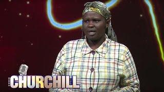 Churchill show Jemutai - Pesa hubadilisha Mapenzi na maisha