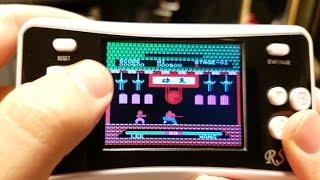 جهاز العاب محمول اتاري و نيتندو محمول العاب زمان Wolsen Portable Game World 152 Games in 1