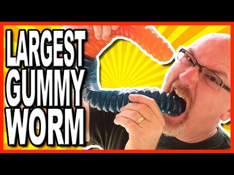 World's Largest Gummy Worm from Vat 19 Review