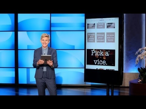 Ellen Takes a Buzzfeed Quiz