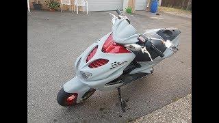 Yamaha Aerox 70ccm Streetrace | Heizen!