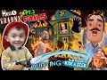 Download Video Download HELLO NEIGHBOR ON FIRE! Saved by Fireman Shawn (FGTEEV Part 3's of Hello Granny & Hide & Seek) 3GP MP4 FLV