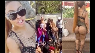 Blac Chyna TWERKS on Stage with Amber Rose at The Slut Walk!