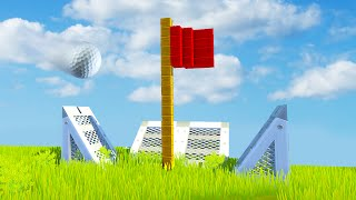 WHO HAS THE BEST GOLF COURSE CHALLENGE! (Scrap Mechanic)
