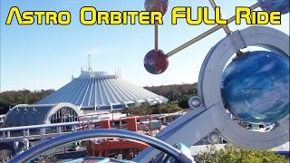 Astro Orbiter FULL POV Ride Experience in Magic Kingdom, Walt Disney World Tomorrowland