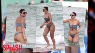 Julieanna Goddard Aka YesJulz on Snapchat Wears a Bikini in Miami | Splash News TV