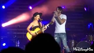 Maren Morris & Fiance Ryan Hurd Sing at State Fair of Texas 2017