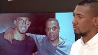 Jérôme Boateng über Jay-Z - Jérôme Boateng about Jay-Z