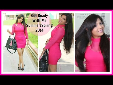 Get Ready With Me | Pink Outfit  | SuperPrincessjo