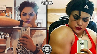 Female Jacked Bodybuilder JAILED For Posting Un-Islamic Nude Selfies