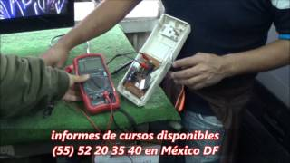 Dentro del Taller 1  clase 4 Programa Tv Tecnicos Profesor Guillermo Orozco 22 de Noviembre 2016