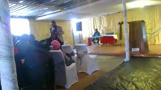 Apostle Kabelo Moroke at House of hope Community Church