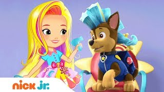 Sunny Day Prepares Great Hair for PAW Patrol, Blaze, Nella & More Friends! 🎤  | Nick Jr. Music
