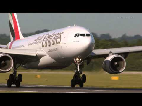 Airbus A330 8 smooth landings at Manchester