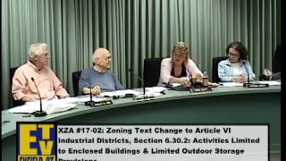 Enfield, CT - Planning & Zoning Commission - June 29, 2017
