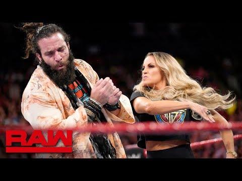 Trish Stratus interrupts Elias Raw Aug. 27 2018