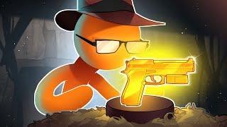 THE GUN OF DREAMS!! - Stick Fight Funny Moments