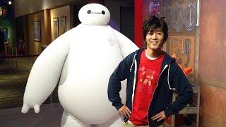 Meet Baymax & Hiro from Big Hero 6 LIVE at Walt Disney World Character Meet & Greet