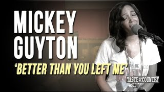 Mickey Guyton: The Story Behind 'Better Than You Left Me'