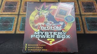 *MYSTERY POWER BOX* YU-GI-OH! SHONEN JUMP *PSA 10 MINT Graded Card?!* Opening/Review!