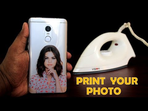 Xxx Mp4 How To Print Your Favorite Photo On Phone Cover At Home Using Electric Iron DIY Phone Cover Print 3gp Sex