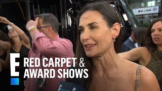 Demi Moore Talks Awkward Intimate Scenes With Zoe Kravitz   E! Live from the Red Carpet
