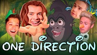 ONE DIRECTION AS DISNEY CHARACTERS