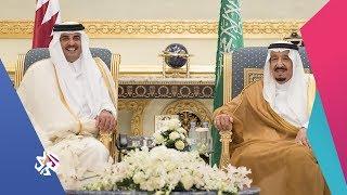الساعة الأخيرة   أمير قطر يتلقى دعوة من العاهل السعودي لحضور القمة الخليجية
