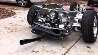 Restored/Custom 1960 VW Beetle Pan - Bagged and Running