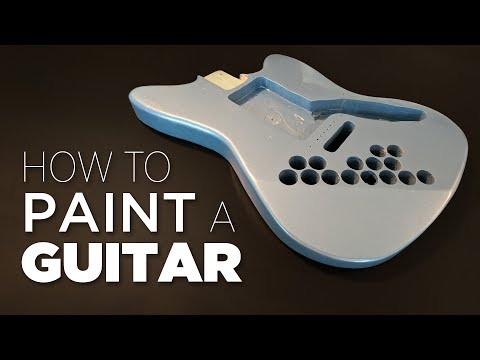 Xxx Mp4 How To Spray Paint A Guitar Start To Finish 3gp Sex