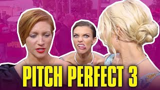 Ruby Rose Interrupts Brittany Snow & Anna Camp