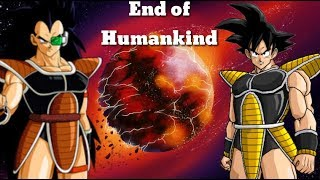 If Goku Went With Raditz ( END OF HUMANKIND ) HINDI DISCUSSION