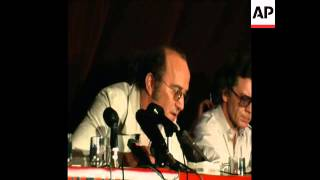 SYND 10 5 76  PRESS CONFERENCE  IN STUTTGART FOR MEINHOF DEATH