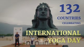 Glimpses of Yoga Day 2018 Celebrations at Isha Yoga Center