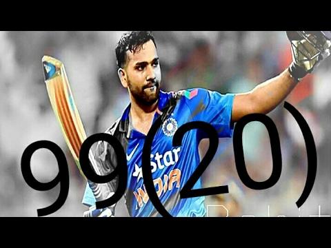 Rohitsharma batting record~{99(20)}