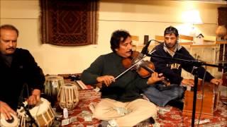 Raees Khan Violinist  guloon mae rang bhare