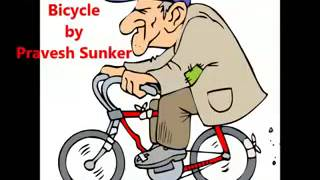 Nana Riding bicycle