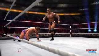 WWE Night Of Champions 2014 Chris Jericho vs Randy Orton Result, wwe 2k14