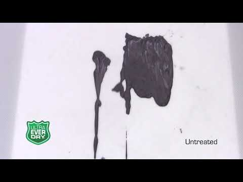 The Official Ultra Ever Dry Video Superhydrophobic coating Repels almost any liquid