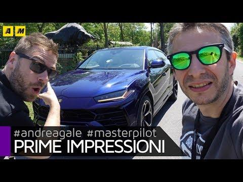 Lamborghini Urus L hyper SUV da 650 CV Primo test 4k video ENGLISH SUB