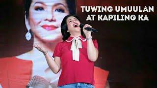 Regine Velasquez Alcasid Sings Tuwing Umuulan At Kapiling Ka